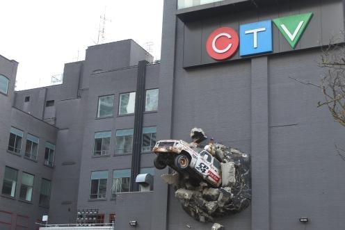 CTV CP24 Breaking News Truck