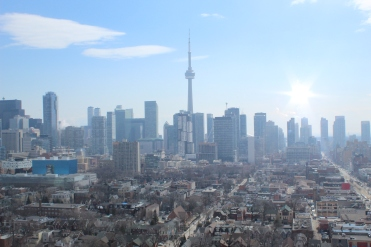 Canadian National (CN) Tower-view at CampusOne at Canadian Campus Communities
