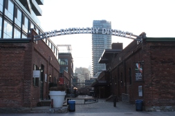 Historic Distillery District Sign