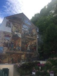 La Fresque du Petit-Champlain at Place Royale (Old City) or simply-Rue du Petit-Champlain mural