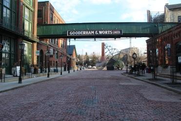 Gooderham & Worts Distillery Sign-Distillery District