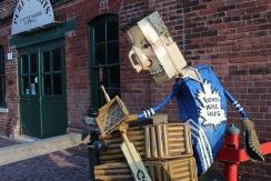 Toronto Maple Leaf's Sculpture-Distillery District