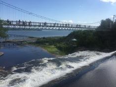 parc de la chute-montmorency crossing bridge