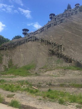montmorency falls staircase