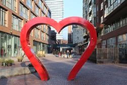 Heart Sculpture-Distillery District