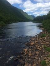 Jacques-Cartier rocks & River