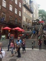 Escalier Casse-Cou (breakneck steps) of Old City