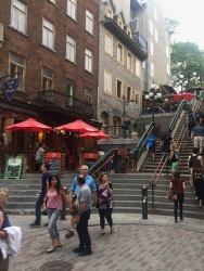 Escalier Casse-Cou (breakneck steps) of Old City