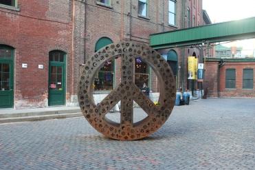 Symbolic Peace by Mathew Rosenblatt-Distillery District