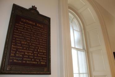 Victoria Hall Sign